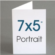 "7x5"" (when folded) Greeting Cards"